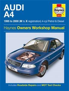 Haynes Reparationshandbok, Audi A4 Petrol & Diesel, Universal