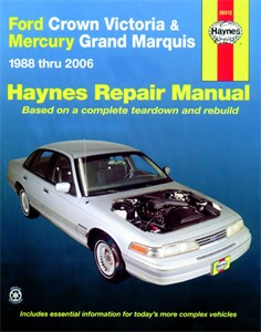 Haynes Reparationshandbok, Ford Crown Victoria Grand Marquis, Universal