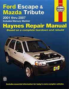 Haynes Reparationshandbok, Ford Escape, Universal
