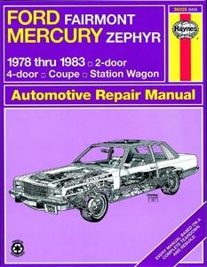 Haynes Reparationshandbok, Ford Fairmont & Mercury Zephyr, Universal