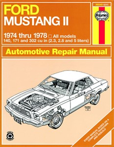 Haynes Reparationshandbok, Ford Mustang II, Universal