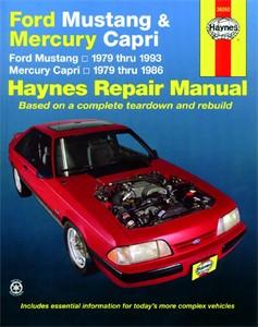 Haynes Reparationshandbok, Ford Mustang/Mercury Capri, Universal