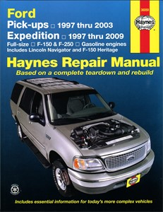 Haynes Reparationshandbok, Ford Expedition, F-150 & F-250, Universal