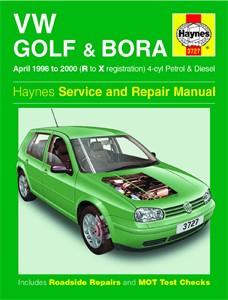 Haynes Reparationshandbok, VW Golf & Bora Petrol & Diesel, Universal