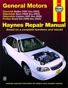 Haynes Reparationshandbok, GM: Malibu, Alero, Cutlass, Universal
