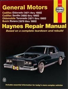 Haynes Reparationshandbok, GM: Eldorado, Seville, Deville, Universal