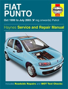 Haynes Reparationshandbok, Fiat Punto Petrol, Universal