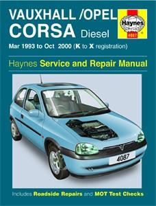 Haynes Reparationshandbok, Vauxhall/Opel Corsa Diesel, Universal