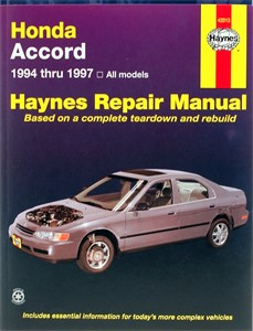 Haynes Reparationshandbok, Honda Accord, Universal