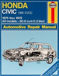 Haynes Reparationshandbok, Honda Civic 1500 CVCC, Universal