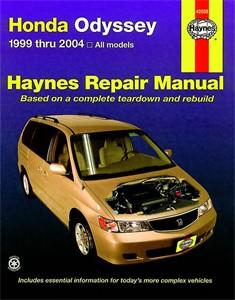 Haynes Reparationshandbok, Honda Odyssey, Universal