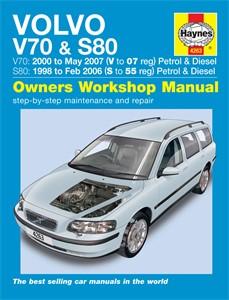 Haynes Reparationshandbok, Volvo V70 / S80 Petrol & Diesel, Universal