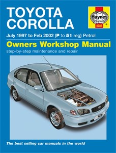 Haynes Reparationshandbok, Toyota Corolla Petrol, Universal