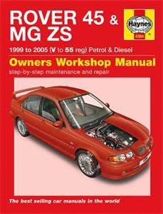 Haynes Reparationshandbok, Rover 45 / MG ZS Petrol & Diesel, Universal