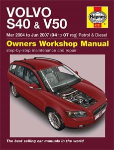 Haynes Reparationshandbok, Volvo S40 & V50 Petrol & Diesel, Universal