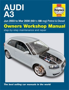 Haynes Reparationshandbok, Audi A3, Universal