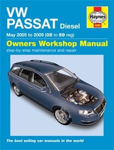 Haynes Reparationshandbok, VW Passat Diesel, Universal