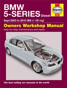 Haynes Reparationshandbok, BMW 5 Series, Universal