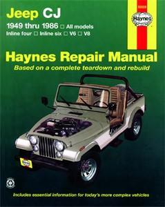 Haynes Reparationshandbok, Jeep CJ, Universal