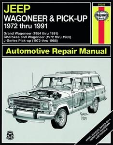 Haynes Reparationshandbok, Jeep Wagoneer/J-Series, Universal