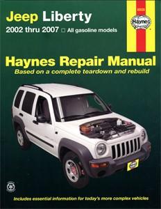 Haynes Reparationshandbok, Jeep Liberty, Universal