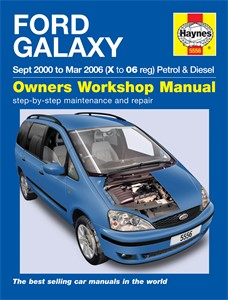 Haynes Reparationshandbok, Ford Galaxy, Universal