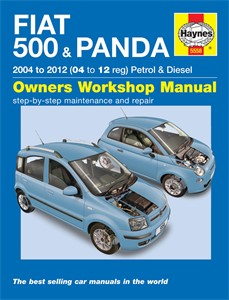 Haynes Reparationshandbok, Fiat 500 & Panda, Universal