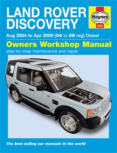 Haynes Reparationshandbok, Land Rover Discovery, Universal