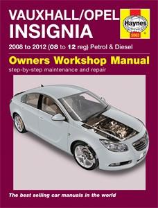 Haynes Reparationshandbok, Vauxhall/Opel Insignia, Universal