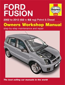 Haynes Reparationshandbok, Ford Fusion, Universal