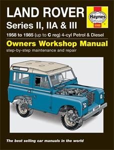 Haynes Reparationshandbok, Land Rover Series II, IIA & III, Universal