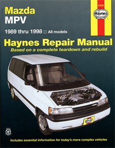 Haynes Reparationshandbok, Mazda MPV, Universal