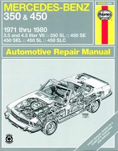 Haynes Reparationshandbok, Mercedes Benz 350 & 450, Universal