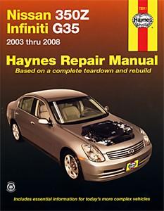 Haynes Reparationshandbok, Nissan 350Z & Infiniti G35, Universal