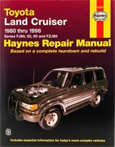 Haynes Reparationshandbok, Toyota Land Cruiser FJ60-80 FZJ80, Universal