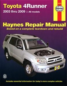 Haynes Reparationshandbok, Toyota 4Runner, Universal