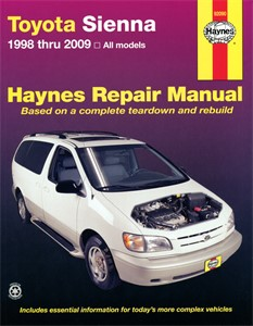 Haynes Reparationshandbok, Toyota Sienna, Universal