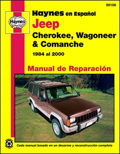 Haynes Reparationshandbok, Jeep Cherokee, Wagoneer Comanche, Universal
