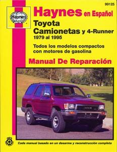 Haynes Reparationshandbok, Toyota Camionetas & 4-Runner, Universal