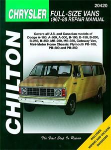 Dodge & Plymouth Vans 1967 - 90, Universal