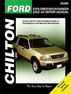 Haynes Reparationshandbok, Ford Explorer Mercury Mountaineer, Universal