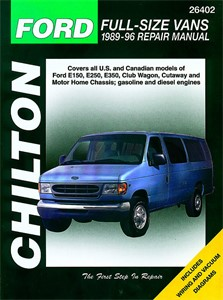 Haynes Reparationshandbok, Ford Vans, Universal