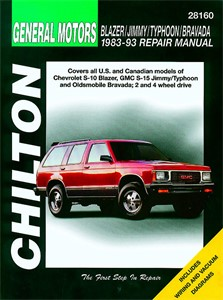 Haynes Reparationshandbok, Chevrolet Blazer/Jimmy/Typhoon, Universal