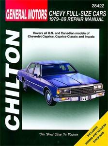 Haynes Reparationshandbok, Chevrolet Full-size Cars, Universal