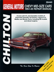 Haynes Reparationshandbok, Chevrolet Mid-size Cars, Universal
