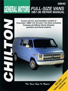 Haynes Reparationshandbok, Chevrolet Vans, Universal