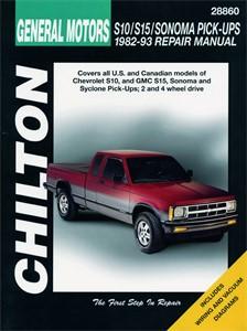 Haynes Reparationshandbok, Chevrolet S10/S15/Sonoma Pick-ups, Universal