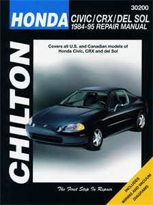 Haynes Reparationshandbok, Honda Civic, CRX & del Sol, Universal