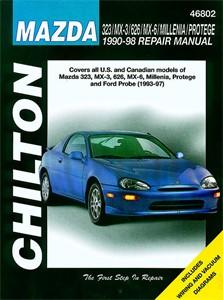 Haynes Reparationshandbok, Mazda 323/MX-3/626/MX-6/Millenia, Universal