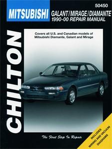 Haynes Reparationshandbok, Mitsubishi Galant/Mirage/Diamante, Universal